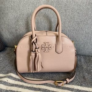 Tory Burch Small McGraw Satchel